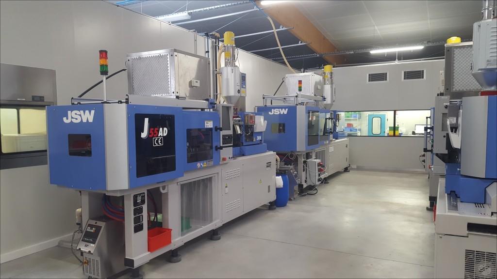 Atelier injection presses JSW