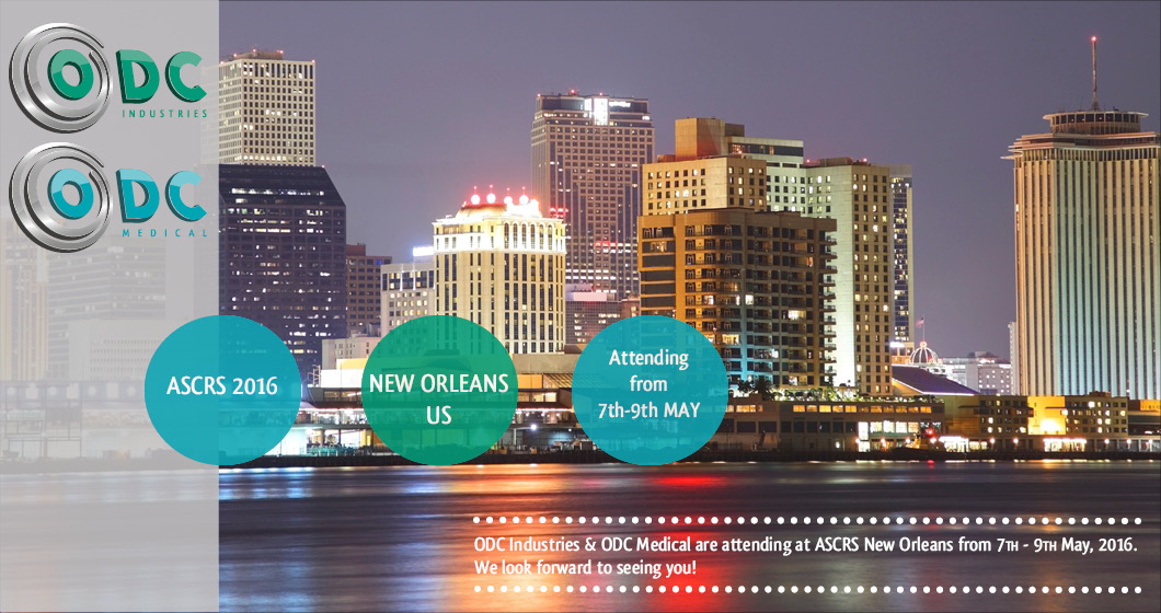ASCRS, New Orleans, ODC Industries, ODC Medical, Ophtalmology