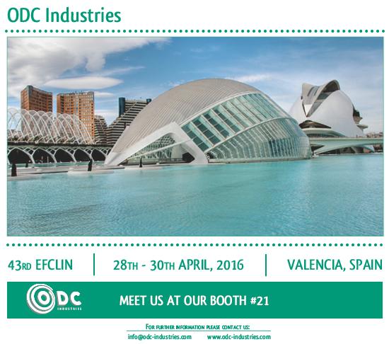 EFCLIN; 2016; ODC Industries, Valencia