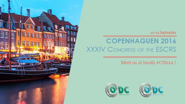 ODC Industries, ESCRS, Copenhaguen