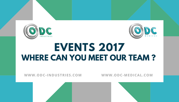 ODC Industries, ESCRS, SFO, EFCLIN, APACRS, DOC, Events 2017